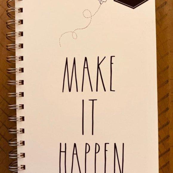 Rae Dunn spiral notebook